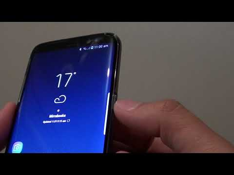 Samsung Galaxy S8: Power Button Now Replaces the Quick Launch Camera From Home Button