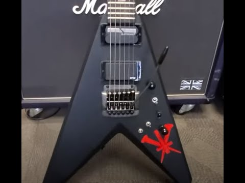 SLAYER's Kerry King Limited Edition Kerry King V guitar run through video posted!