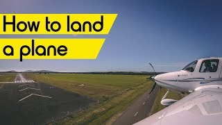 How to land a Ciŗrus (or Cessna, or Piper, or any plane)