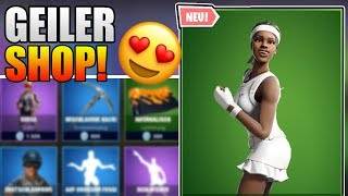 NEW MATCHBALL SKIN 💪 Today at Fortnite Shop Deutsch Daily Shop 1.7