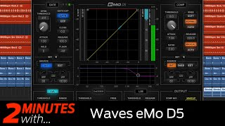 Waves eMo D5 VST/AU plugin in action