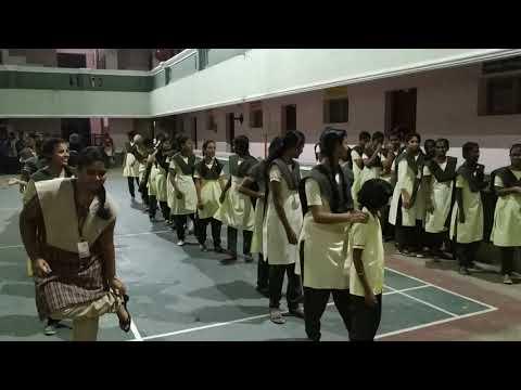Chennai MC Lambo Kanna & MC Pravin Conducted Games For Hotel Student At Aditya School,Pondy