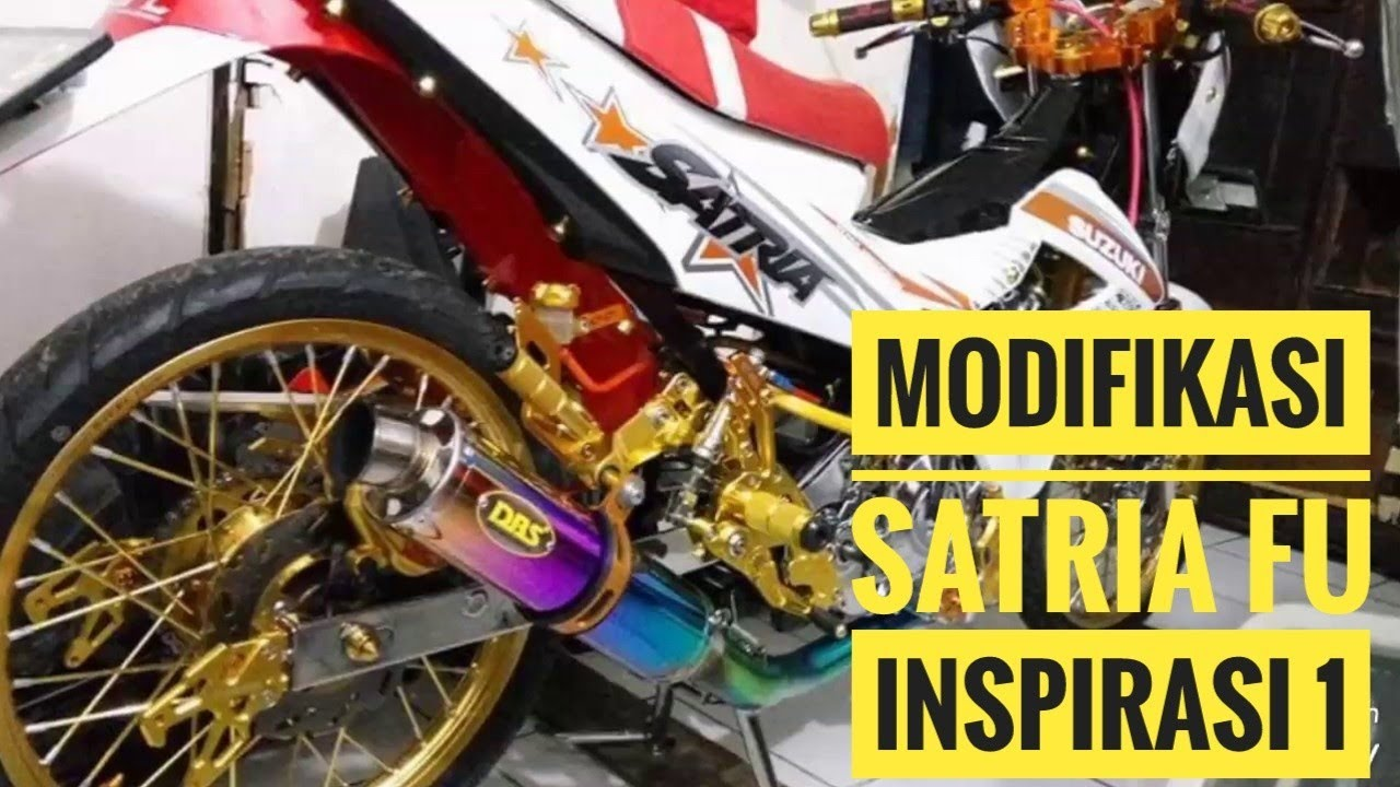 MODIFIKASI SATRIA FU BY ULUS TURNER 7