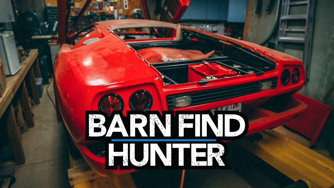 Lamborghini kit car y exclusivos autos de antes de la guerra escondidos en un sótano   Granero Encuentra Hunter - Ep. 73 + vídeo