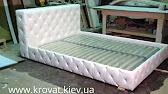 Сборка кровати с подъемным механизмом - YouTube