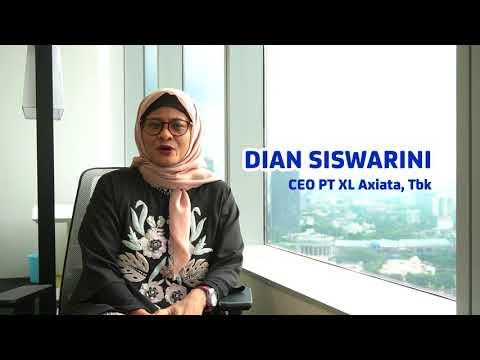 XL AXIATA NETWORK CAMPAIGN 4,5G 2018 - Dian Siswarini, CEO PT XLAxiata Tbk