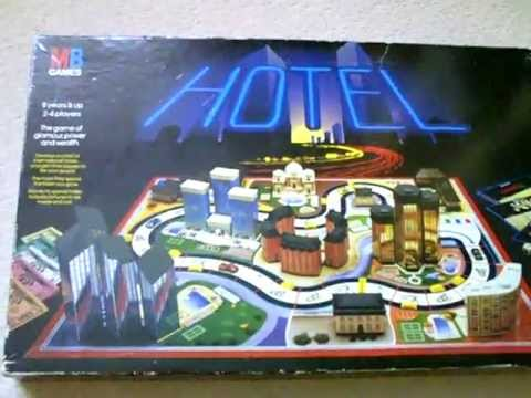 Hotel - MB Board game from 1986