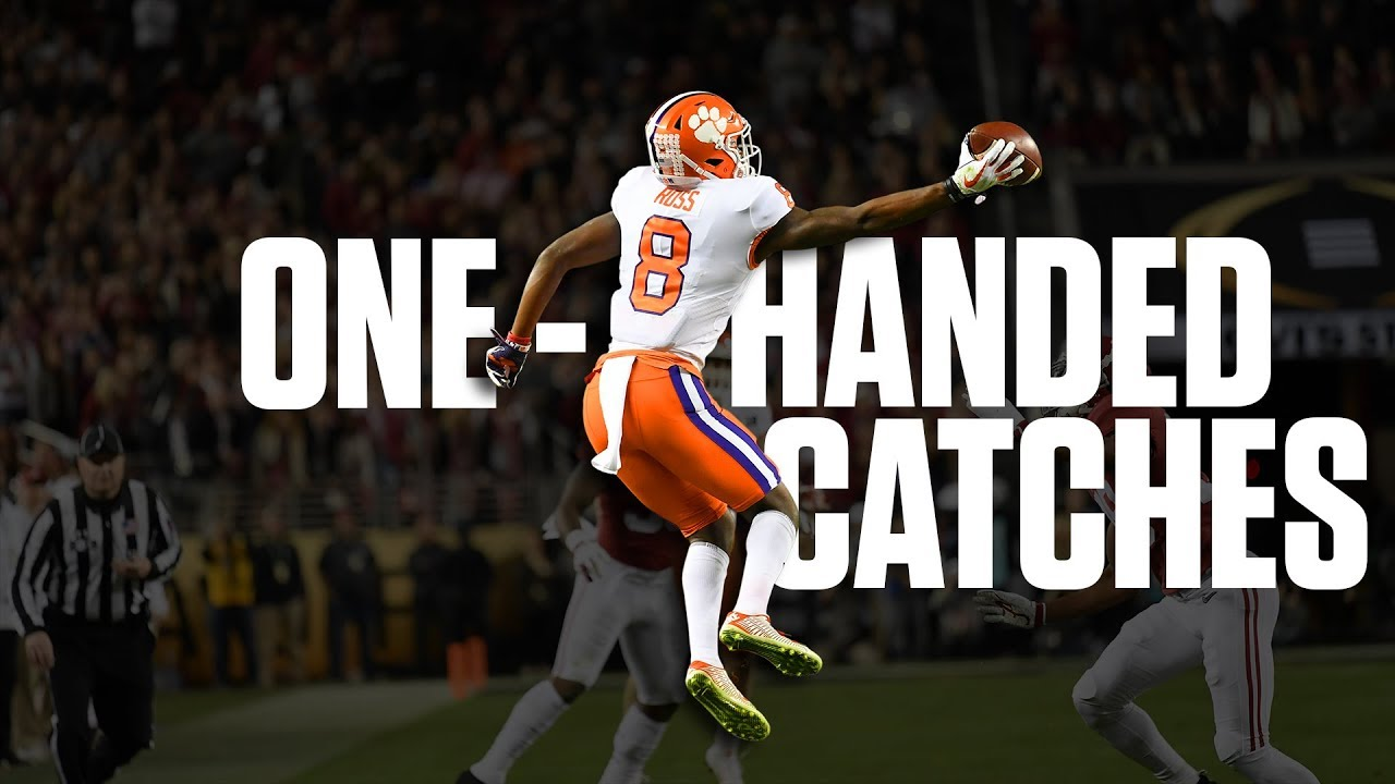 Download The best one-handed catches of 2018 | College Football Highlights