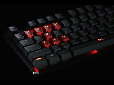 Клавиатура проводная HyperX Alloy FPS Cherry MX Blue USB (HX-KB1BL1-RU/A5)