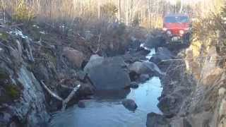 Wheeling in the Sault Trussel / Morningwood Offroad - November 2012