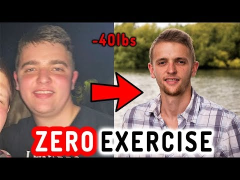 How To Lose Weight FAST in 2019 (WITHOUT EXERCISE!!)