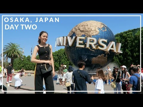 OSAKA VLOG : UNIVERSAL STUDIOS JAPAN! *mama screaming*