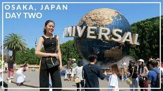 OSAKA VLOG : UNIVERSAL STUDIOS JAPAN! *mama screaming*