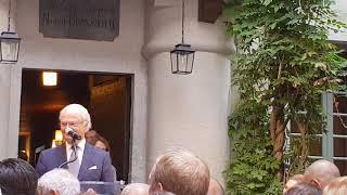 Le Roi de Suède, Charles XVI Gustave inaugure le Musée Bernadotte de Pau