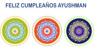 Ayushman   Indian Designs - Happy Birthday