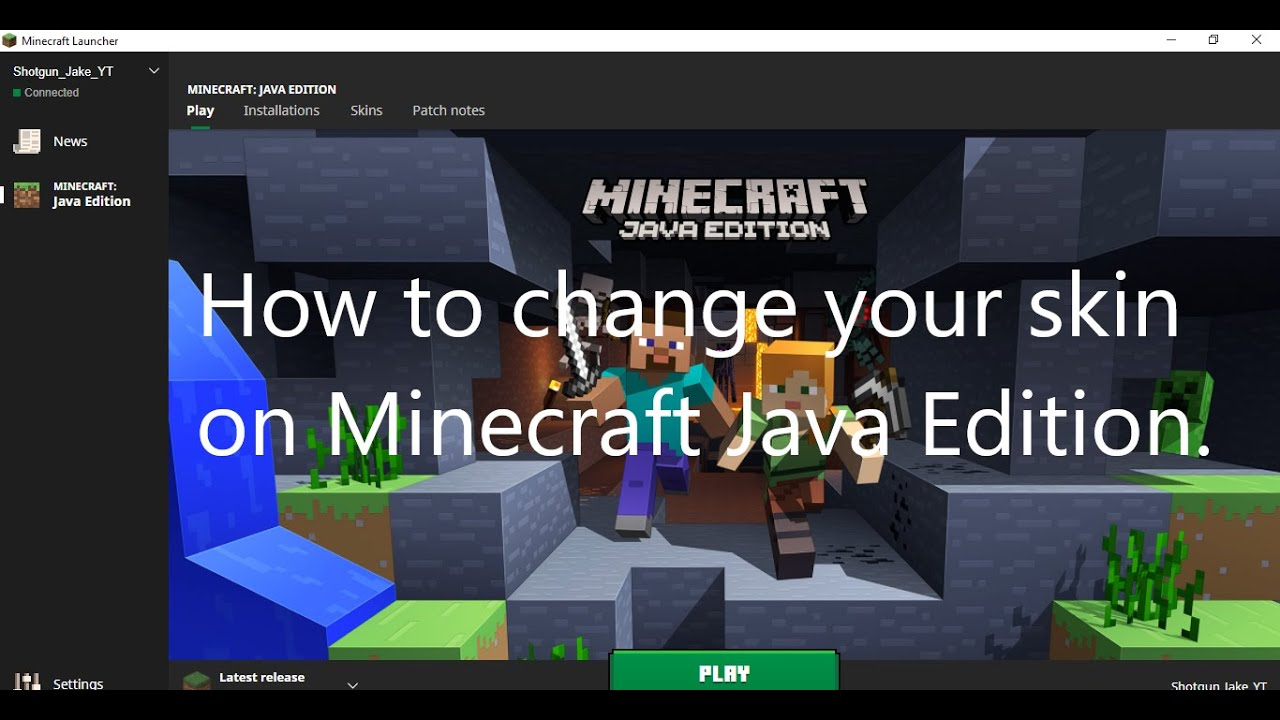 How To Import Your Skins Into Minecraft Java Edition