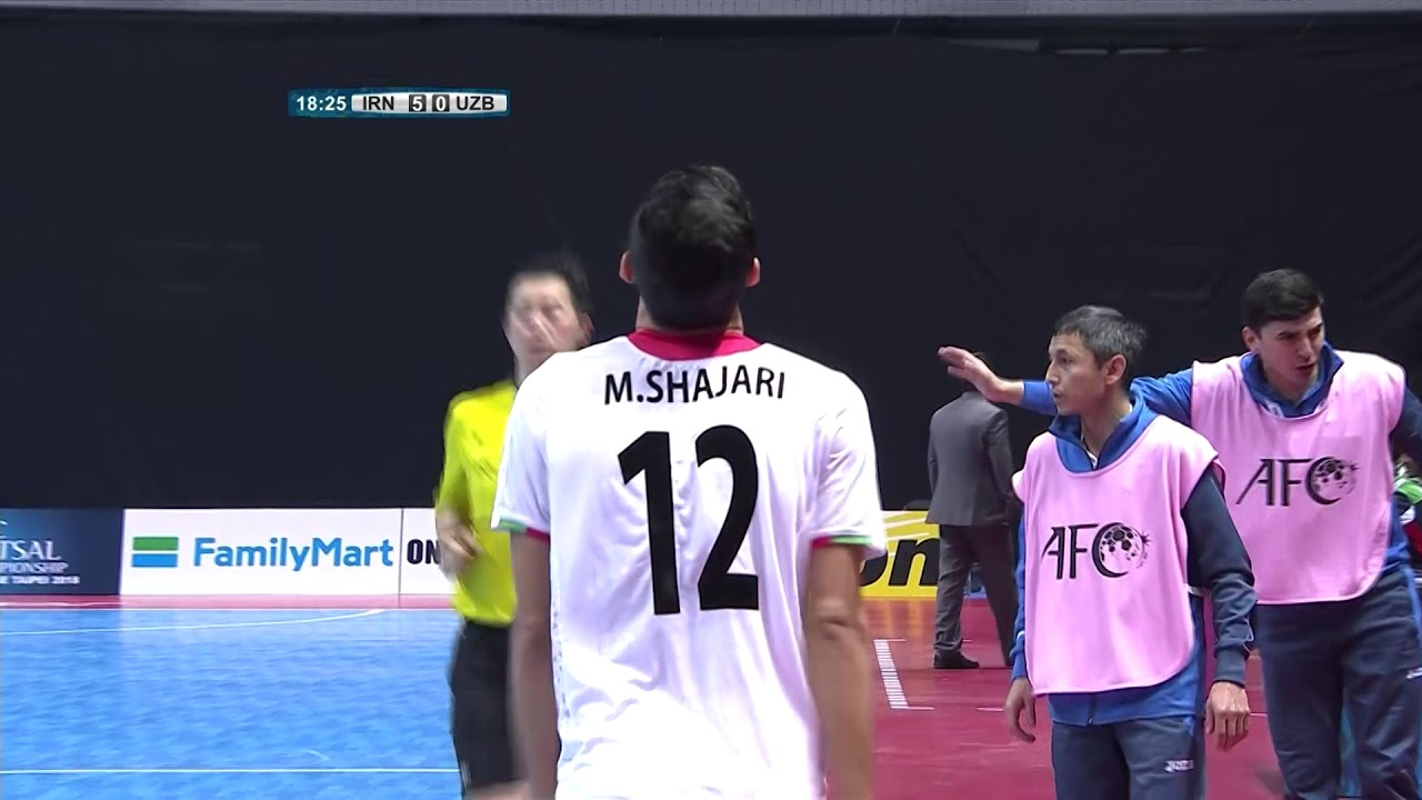 rsults championship live Asian futsal