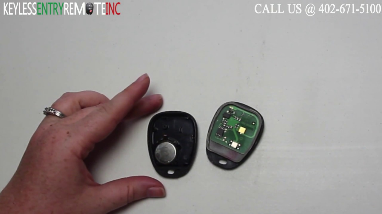 How to replace cadillac cts key fob battery 2003 2004 2005 2006 2007 2008 youtube