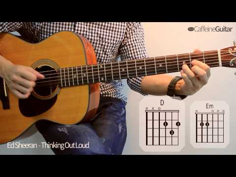 Thinking Out Loud - Ed Sheeran | 기타 연주, Guitar Cover, Lesson, Chords