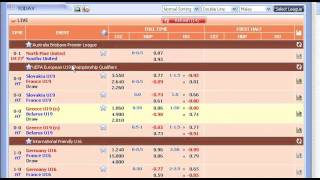 LIVE! How To Win In Live Football Betting