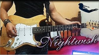 NIGHTWISH - Élan Cover Contest Entry - Guitar Cover  TAB (with solo)