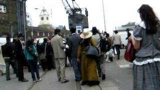 Salman Khan VEER movie.....................filming scenes in Chatham,Kent,England