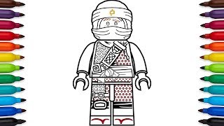 How to draw Lego Kai from Ninjago: Hunted - Season 9