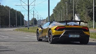 Lamborghini Huracan Performante Spyder - Lovely Sounds!