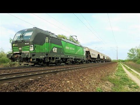 ENNA Ppd Trans Vectron 193 279 On A Freight Train In Croatia. ENNA Teretni Vlak (Croatian Railways)