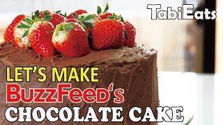 Making Buzzfeed's Ultimate Chocolate Cake