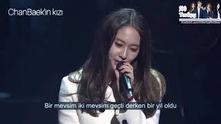 Chen (from Exo)  Krystal Jung (from f(x)) - When I Was When You Were (Türkçe altyazılı)