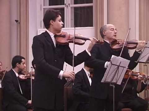 (1/3) Vivaldi - Concerto for 2 violins & orchestra in a minor RV 522