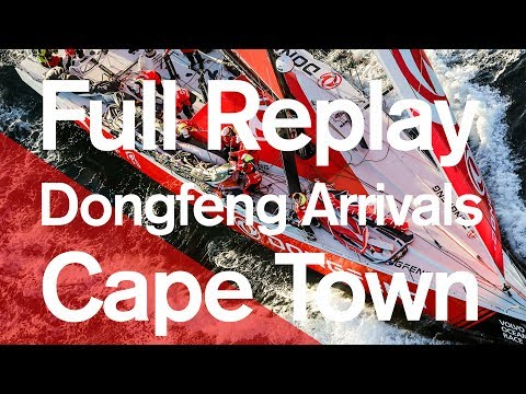 Full Replay: Dongfeng Arrivals Cape Town | Volvo Ocean Race