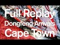 Full Replay  Dongfeng Arrivals Cape Town   Volvo Ocean Race