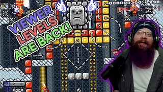 Viewer Levels are BACK! | Super Mario Maker 2 Viewer Levels with Oshikorosu!