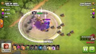 Clash Of Clans : Max Bowler's Vs Level 10 Barbarian King