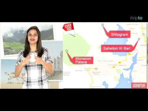 Udaipur tour: 2-day itinerary in 60 seconds