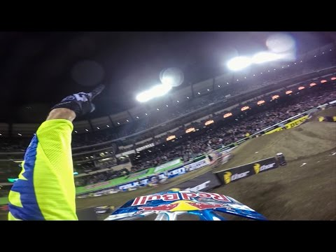 GoPro: Ken Roczen Wins SX Opener - 2015 Monster Energy Supercross Anaheim