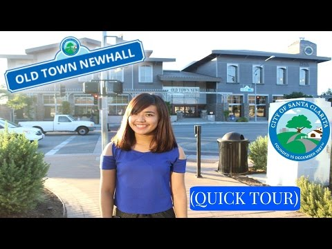 Old Town Newhall Santa Clarita California (Quick Tour)