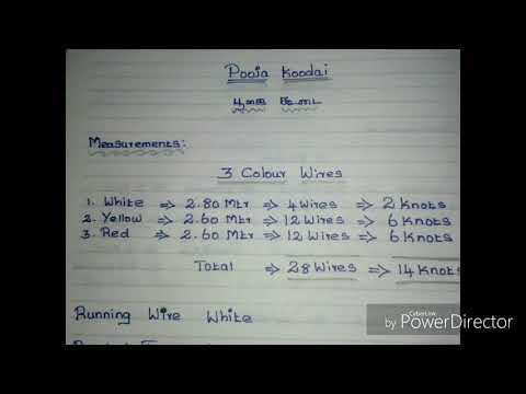 How to take measurements in pooja basket poojai koodai part1