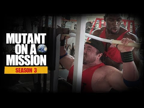 MUTANT ON A MISSION - Stern's Gym, San Diego