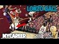 LONZO KICKS LEBRON IN THE GROIN! NBA 2K17 LONZO BALL MyCareer