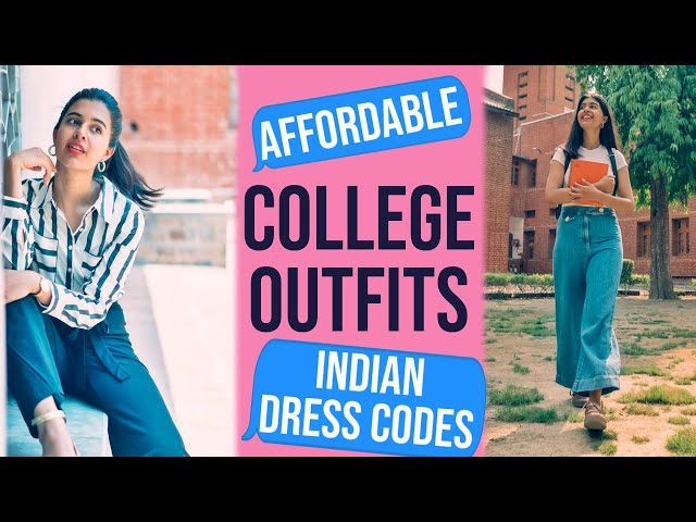 Indian College Dressing: Wearable Outfits on a Budget + GIVEAWAY | Sejal Kumar