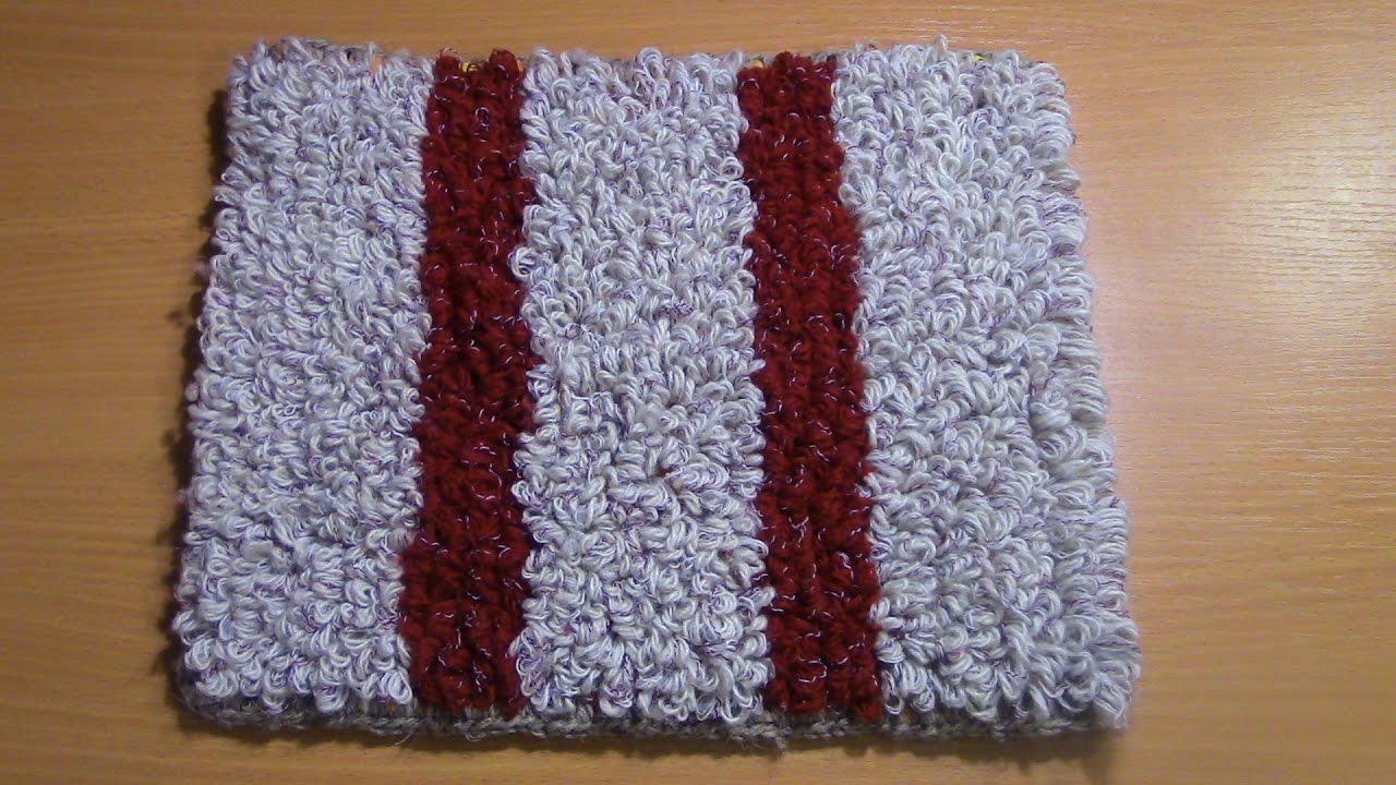 коврик на резиновой основе своими руками