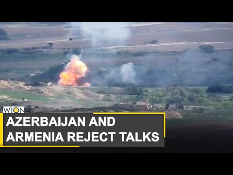 Azerbaijan and Armenia reject talks as Karabakh conflict zone spreads | World News