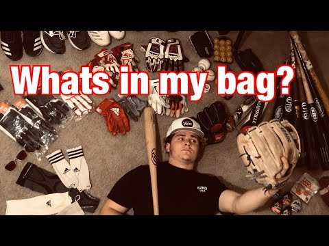 What's in My Baseball Bag? D1 Baseball Player