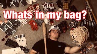 What's in My Baseball Bag? D1 Baseball Player