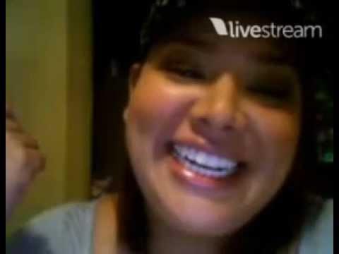 Dariela en Twitcam Chat.  ( 02-03-2012 )