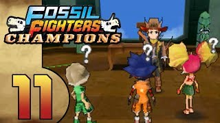 Fossil Fighters Champions (DS) Part 11 (Caliosteo Patrol Team)