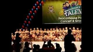 Beaconhouse Preschool Concert and Graduation 2009 Part 3/3